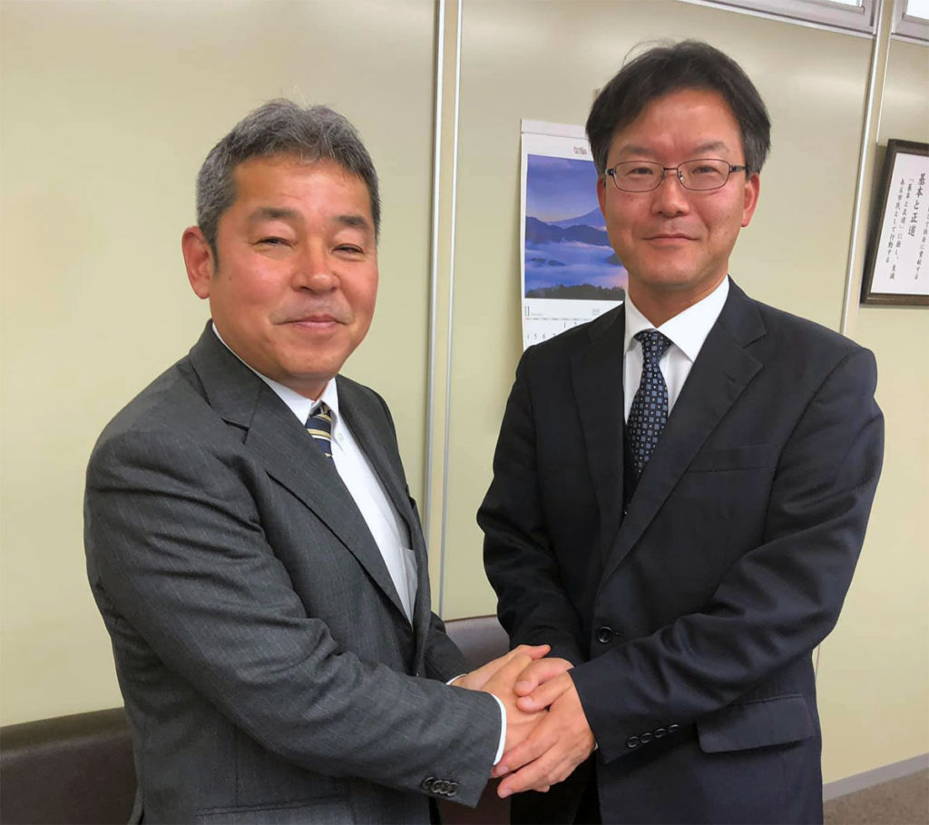 任田正史社長と意見交換
